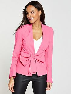 v-by-very-statement-bow-jacket-pink