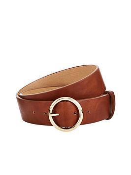 v-by-very-circle-detail-belt-tan