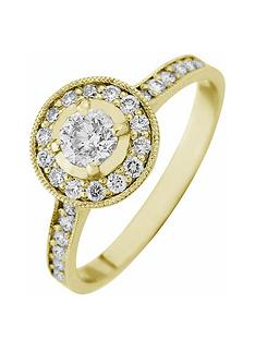 love-diamond-9ct-gold-50-point-diamond-halo-engagement-ring