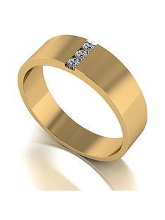 love-diamond-9ct-gold-diamond-set-band-ring
