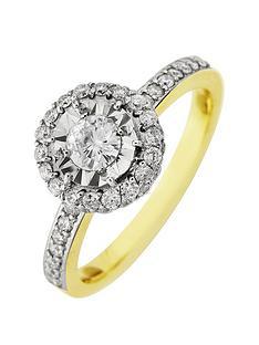 starlight-9ct-gold-15ct-look-75pts-diamond-illusion-set-halo-ring