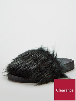 v-by-very-lolly-faux-fur-slider-green