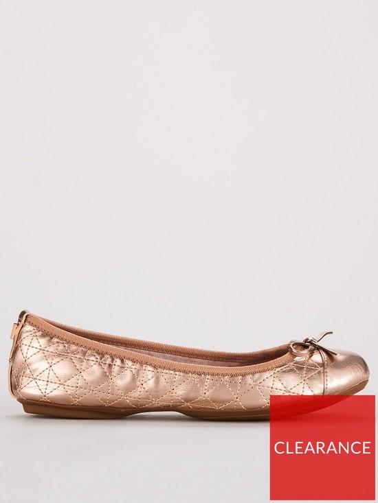 1e7b2617d1f ... BUTTERFLY TWISTS Olivia Toe Cap Ballerina Flats - Rose Gold. View larger