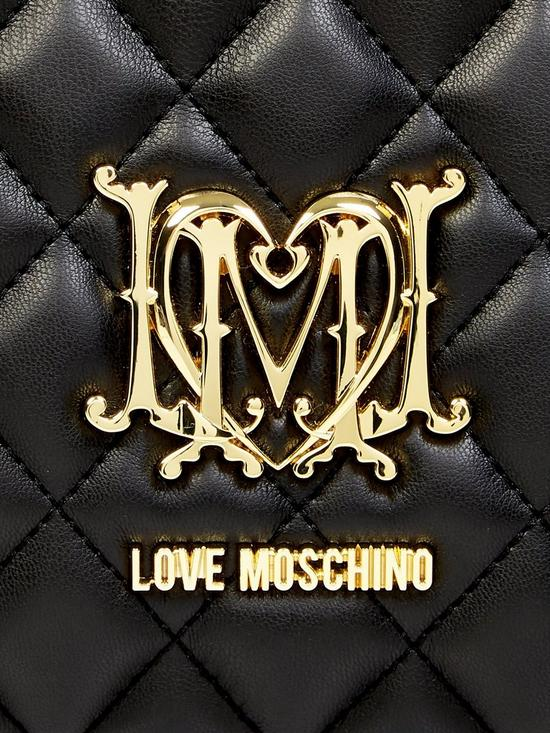 f830669c2ac ... LOVE MOSCHINO Quilted Logo Shopper Bag - Black. Purchased 11 times in  the last 48 hrs.