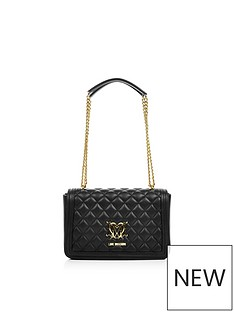 love-moschino-quilted-logo-bag-with-chain--black