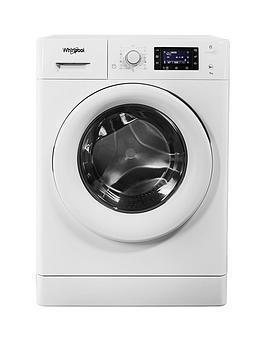 whirlpool freshcare fwd91496w 9kg load 1400 spin 6th sense washing machine white. Black Bedroom Furniture Sets. Home Design Ideas