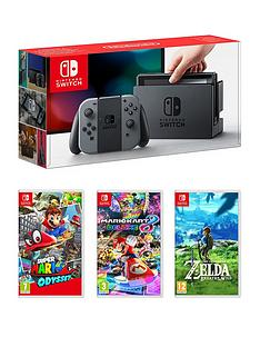 nintendo-console-with-super-mario-odyssey-mario-kart-8-and-legend-of-zelda