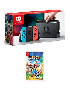 nintendo-switch-console-with-mario-and-rabbids-kingdom-battle