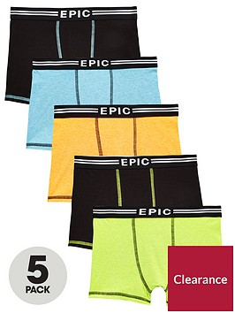v-by-very-5-pack-neon-trunks