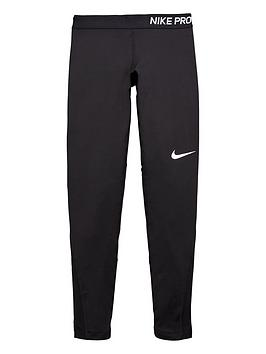 nike-older-girl-pro-fit-tight-blacknbsp