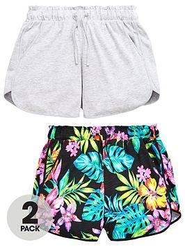v-by-very-girls-tropical-print-shorts-multipack