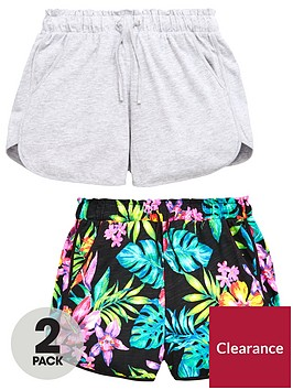 v-by-very-girls-tropical-print-shorts-multipack