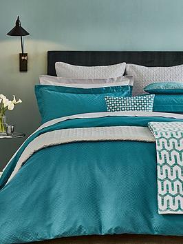 peacock-blue-hotel-elysian-cotton-duvet-cover
