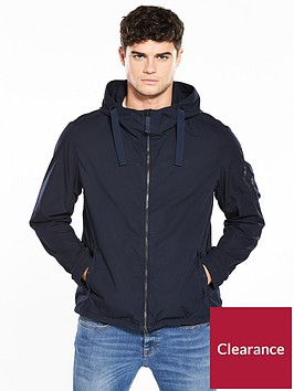 boss-hooded-soft-shell-jacket-navy