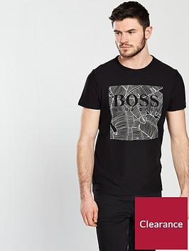 boss-leaf-print-t-shirt