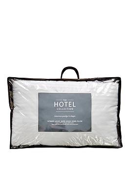 Hotel Collection Ultimate Luxury White Goose Down Pillow &Ndash; Single