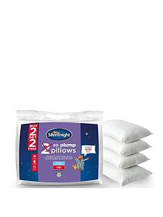 Silentnight So Plump Pillows - 2 plus 2 FREE