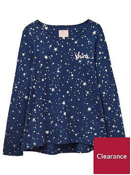 joules-girls-star-slub-jersey-top
