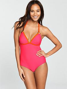 v-by-very-ring-detail-colour-block-swimsuit