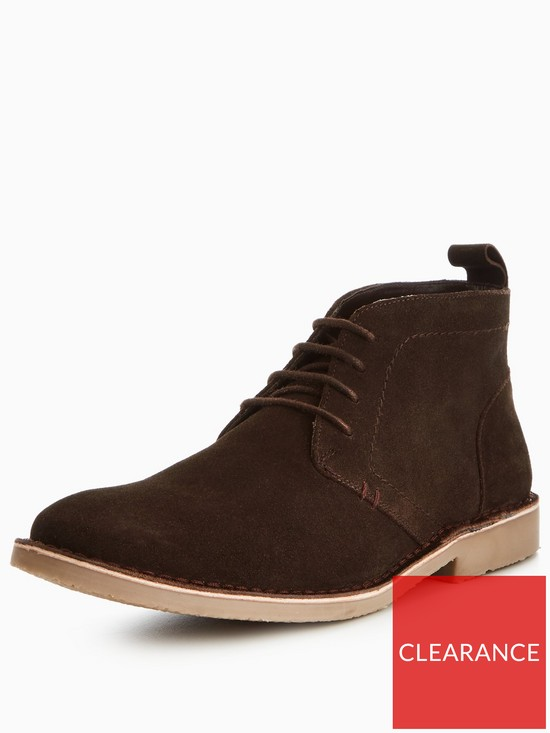33a6fcee6cbf Unsung Hero Nightridge Suede Chukka Boot