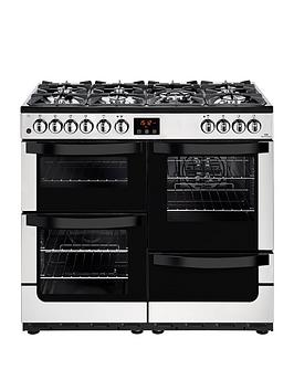 new-world-nw-vision-100dft-dual-fuel-100cm-range-cooker-stainless-steel