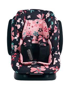 Cosatto Hug Group 123 Isofix Car Seat - Paper Petals
