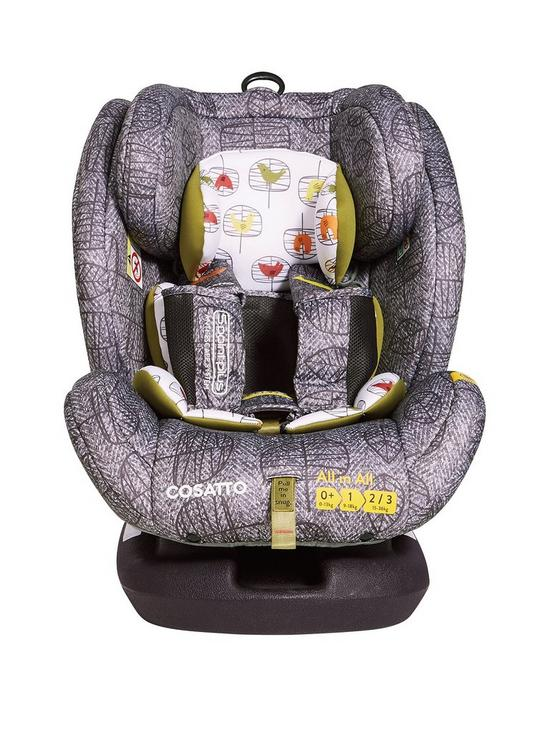 Cosatto Cosatto All in All Group 0+123 Isofix Car Seat - Dawn Chorus ...