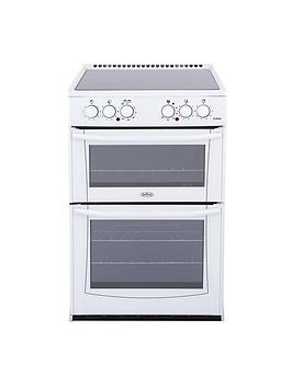 belling-bel-enfield-e552-55cmnbspelectric-ceramic-double-oven-white