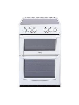 belling-enfieldnbspe552-55cmnbspelectric-ceramic-double-oven-white