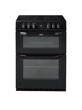 belling-fse-60dop-60cmnbspelectric-ceramic-double-oven-black
