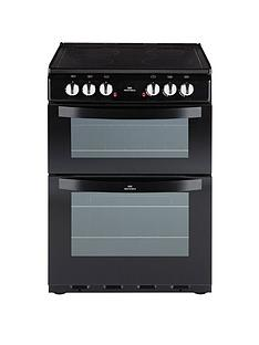 new-world-nw-601edo-60cm-electric-ceramic-double-oven-black