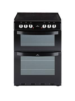 new-world-nw-601edo-60cm-electric-ceramic-double-oven-black