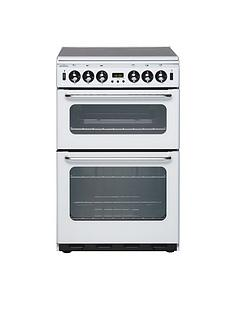 new-world-550tsidom-55cm-wide-double-oven-gas-cooker-white-with-optional-connection