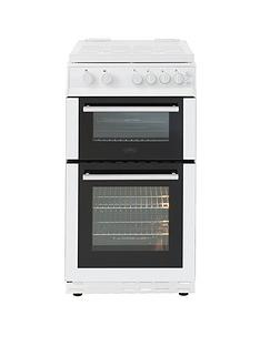 Belling BEL FS50GDOL 50CM GAS DOUBLE OVEN WHITE