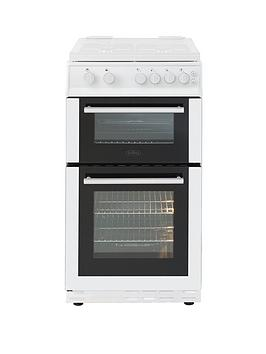 belling-bel-fs50gdol-50cmnbspgas-double-oven-with-connection-white
