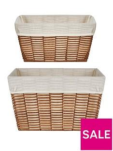 ideal-home-natural-woven-set-2-rectangluar-handled-baskets