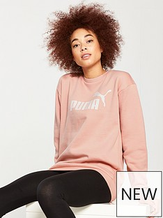 puma-essentials-no1-crew-sweater-peach