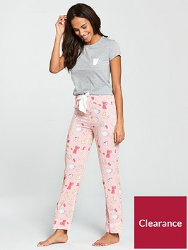 v-by-very-brunch-print-pjs-pinkgrey