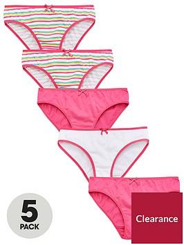 v-by-very-5-pack-girls-stripe-bright-knickers-multi