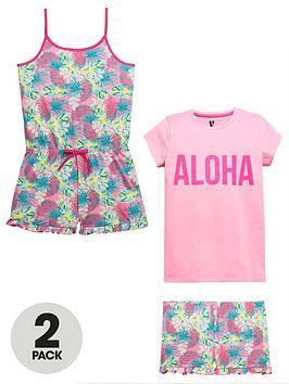v-by-very-2-pack-aloha-pyjama