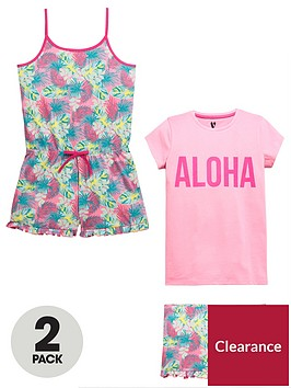 v-by-very-2-pack-aloha-pyjama