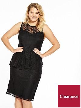 v-by-very-curve-lace-peplum-pencil-dress