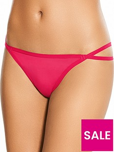 boux-avenue-strappy-string-thong-red