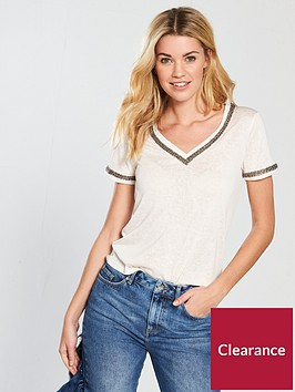 v-by-very-linen-embellished-neckline-top