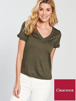 v-by-very-linen-embellished-neckline-top