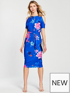 v-by-very-cold-shoulder-midi-jersey-dress-blue-floral