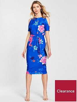 v-by-very-cold-shoulder-midi-jersey-dress-blue-floral