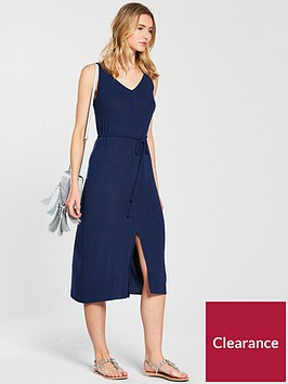v-by-very-soft-spun-midi-strappynbspjersey-dress-denim-blue