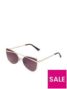 river-island-girls-rose-gold-tone-brow-bar-sunglasses