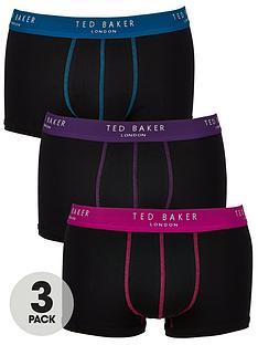 ted-baker-3pk-contrast-waistband-trunk